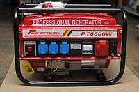 Генератор бензиновый 3-х фазный Powertech PT6500W 4.8 кв