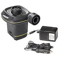 Электрический насос Интекс от сети 220V и от прикуривателя 12V для накачивания бассейнов кроватей матрасов