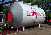 БУ мобильный топливный модуль, цилиндрический резервуар на 20 000 литров (Мини АЗС) после капитально