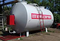 Мобильный топливный модуль, цилиндрический резервуар на 25 000 литров, после капитального ремонта