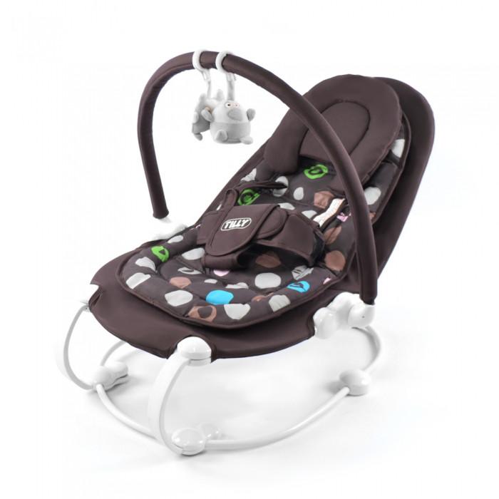 Детский шезлонг TILLY BT-BB-0004 Coffee (кресло шезлонг тилли)