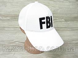 "Мужская, унисекс бейсболка, кепка, лакоста, с вставкой в стиле ""FBI"" (реплика), размер 56-58, на резинке, фото 3"