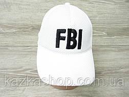"Мужская, унисекс бейсболка, кепка, лакоста, с вставкой в стиле ""FBI"" (реплика), размер 56-58, на резинке, фото 2"