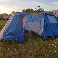 Для большой семьи палатка туристическая четырехместная Coleman