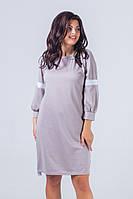 Платье большого размера / трикотаж Алекс / Украина 5-394, фото 1