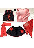 Детский карнавальный костюм Bonita Пират (девочка) 105 - 120 см Красный