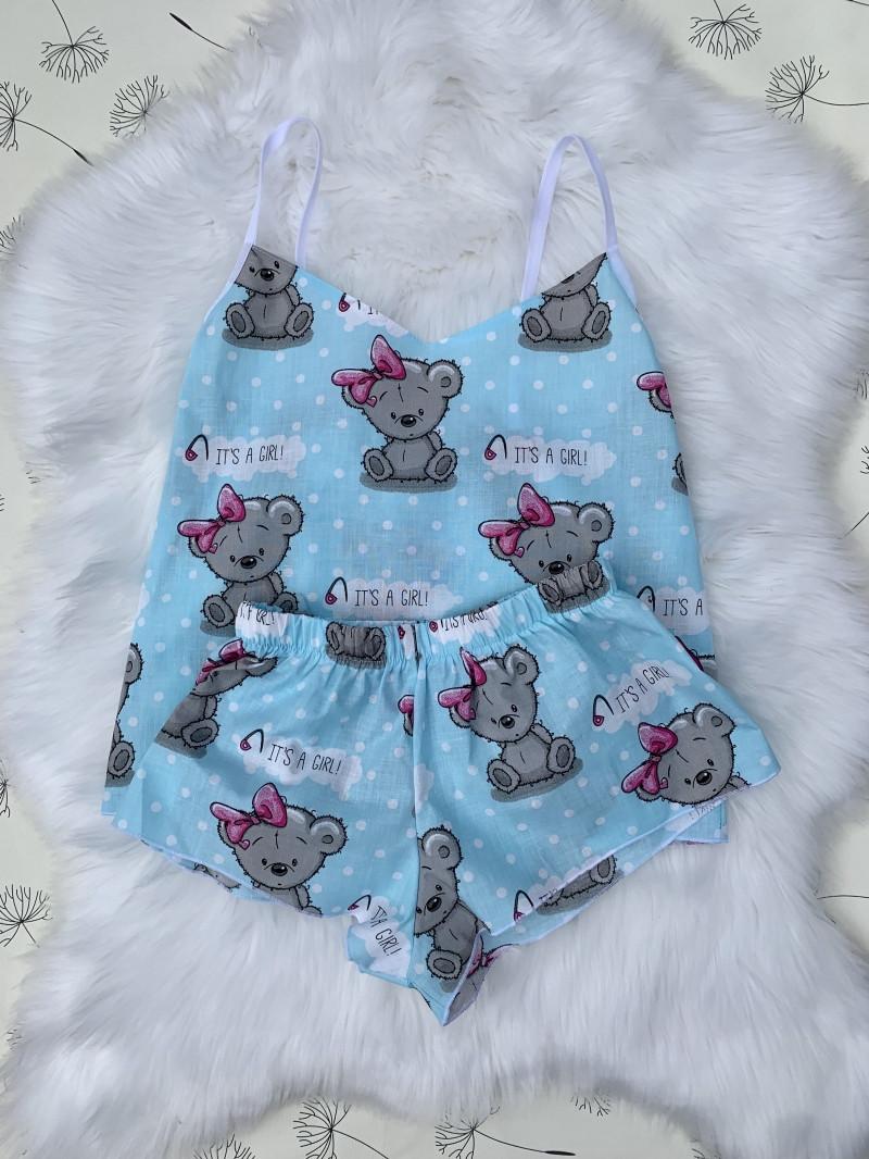 """Мягкая пижама """"Мишки Тедди"""".Размер S,M,L."""