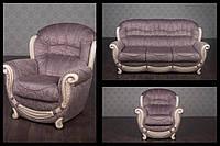 """Комплект мягкой мебели """"Джове"""" в наличии, распродажа от фабрики, классический стиль, популярная ткань """"Шираз"""""""