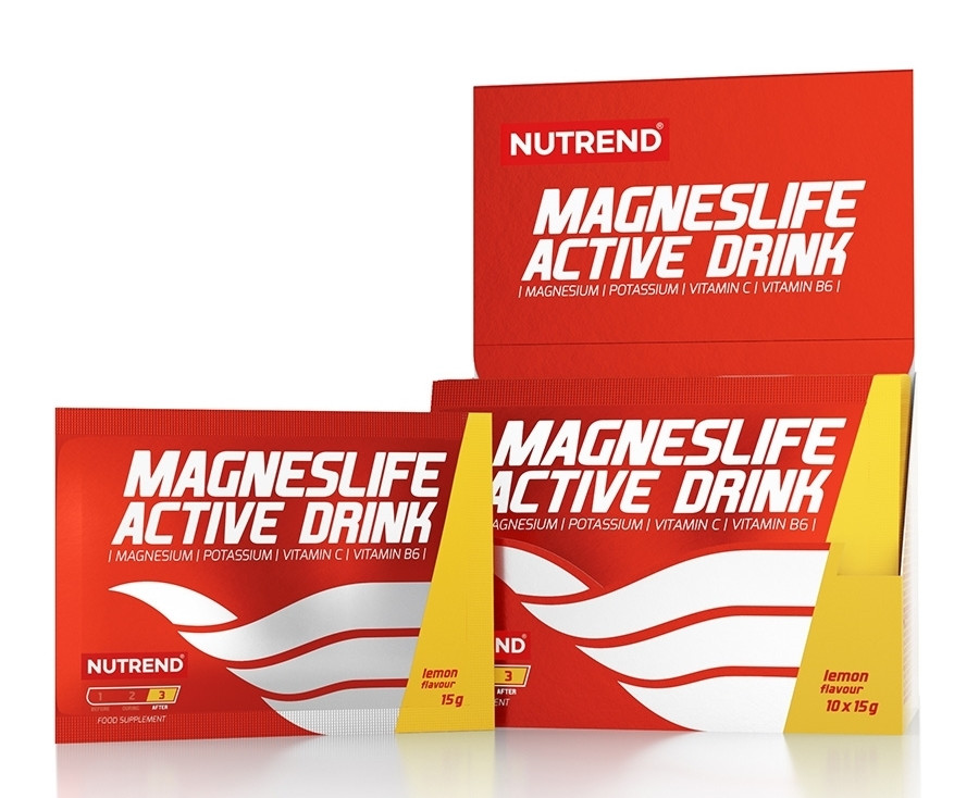 Nutrend Magneslife Active Drink 10x15g
