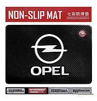 Антискользящий коврик в машину Anti-Slip Pad Opel Black