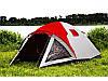 Палатка туристическая Presto Furan-4 4-х местная (Клеенные швы, тамбур)