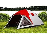 Палатка туристическая Presto Furan-4 4-х местная (Клеенные швы, тамбур) , фото 1
