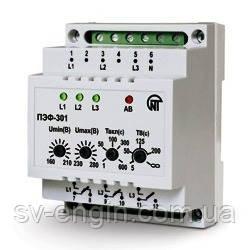 ПЭФ-301 - электронный переключатель фаз (16А)