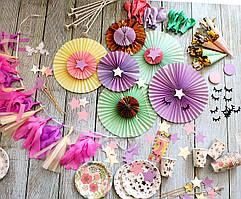 Декор для детского дня рождения Единороги (см.описание)