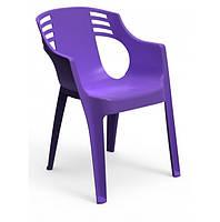 Кресло садовое Спокан фиолетовое