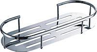 Латунная  подвесная полочка-сетка для ванной комнаты  29967 ТМ Trento  PALACE HC