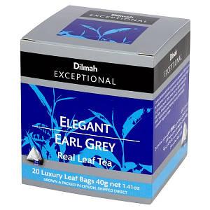 Чай черный Earl Grey Dilmah Exceptional, 20п.х2г