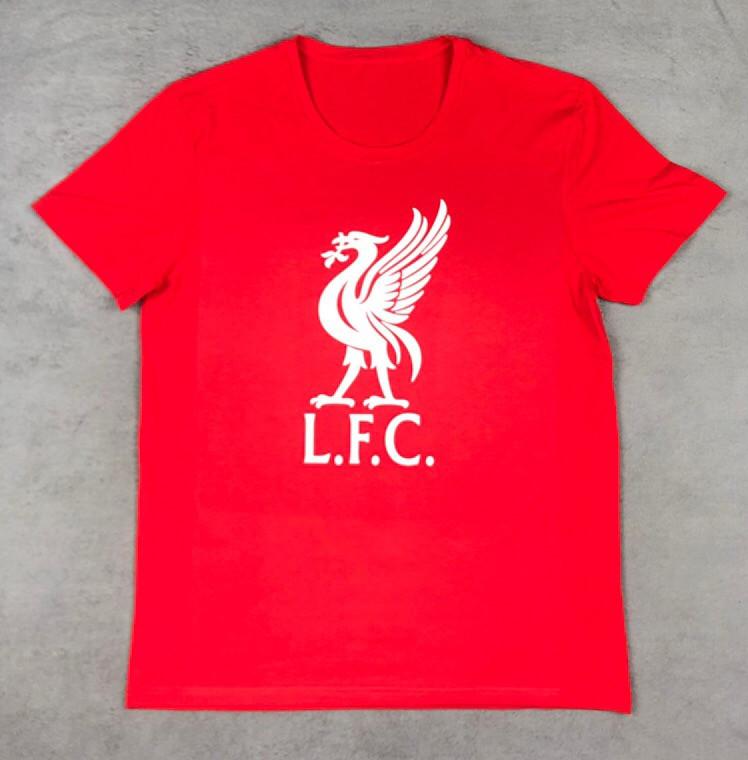 Футболка с принтом Ливерпуль (Liverpool)
