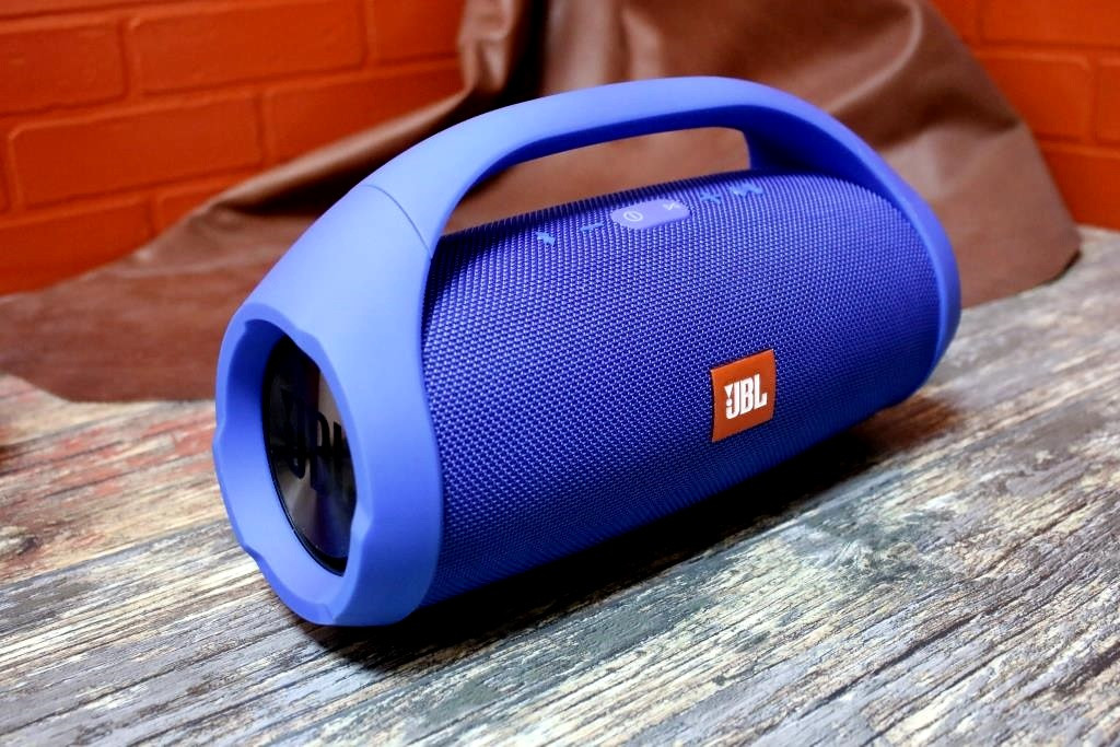 Портативная Bluetooth-колонка  JBL BOOMBOX BIG Бумбокс Синяя