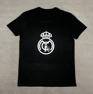 Футболка с принтом Реал Мадрид (Real Madrid)