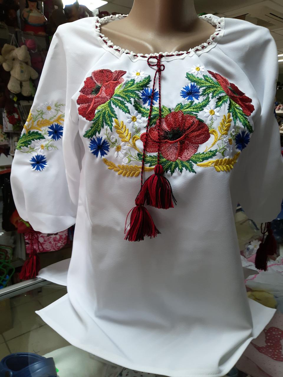 Сорочка жіноча вишита Біла Вишиванка р. 42 - 60