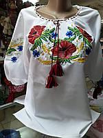 Рубашка женская вышитая Белая Вышиванка  р.42 - 60