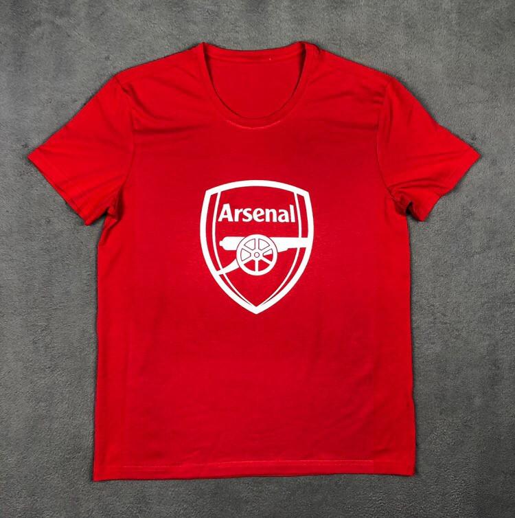 Футболка с принтом Арсенал (Arsenal)