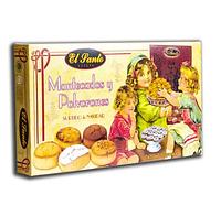 Печенье с миндальной мукой песочное ассорти El Santo Mantecados y Polvorones  300г Испания