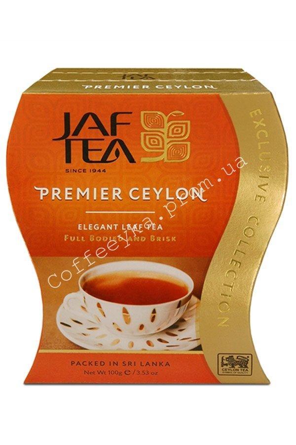 Чай чёрный JAF TEA Premier Ceylon 100г