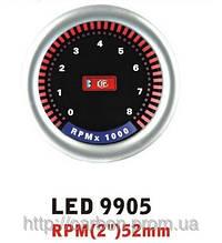 LED 9905 Тахометр світлодіодний 52 мм, Харків