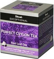 Чай черный Ceylon Dilmah Exceptional, 20п.х2г