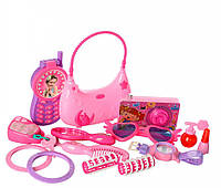 Набор аксессуаров DA7012 телефон,браслет,сумочка(на бат-табл), в кор-ке, 41,5-30-6см   (DA7012)