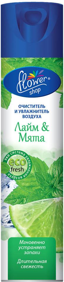 Освежитель воздуха Flower Shop Eco Fresh Лайм & Мята 300 мл