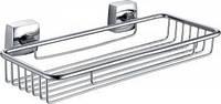 Латунная одинарная полочка-сетка для ванной комнаты  32431 ТМ Trento Moderno