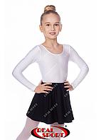 Юбка для танцев черная GM050021 (эластан, р-р 2-XL, рост 98-162 см)