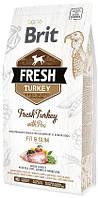 170996/0809 Brit Fresh Overweight and Senior Dog Turkey & Pea, 2,5 кг