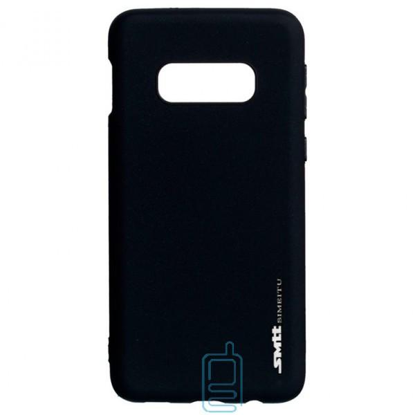 Чехол силиконовый SMTT Samsung S10E G970 черный