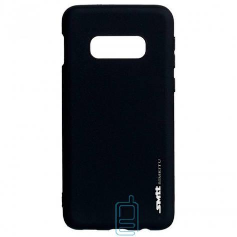 Чехол силиконовый SMTT Samsung S10E G970 черный, фото 2