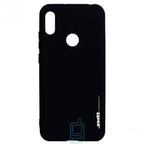 Чехол силиконовый SMTT Huawei Y6 2019 черный, фото 2