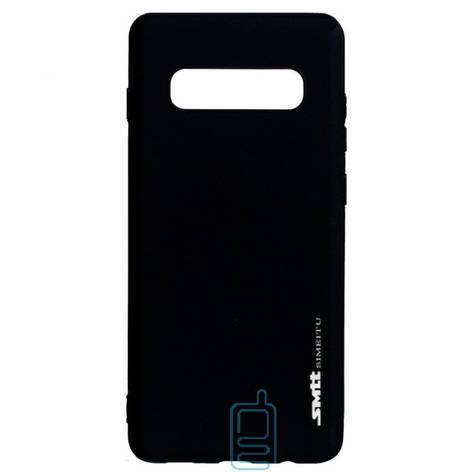 Чехол силиконовый SMTT Samsung S10 G973 черный, фото 2