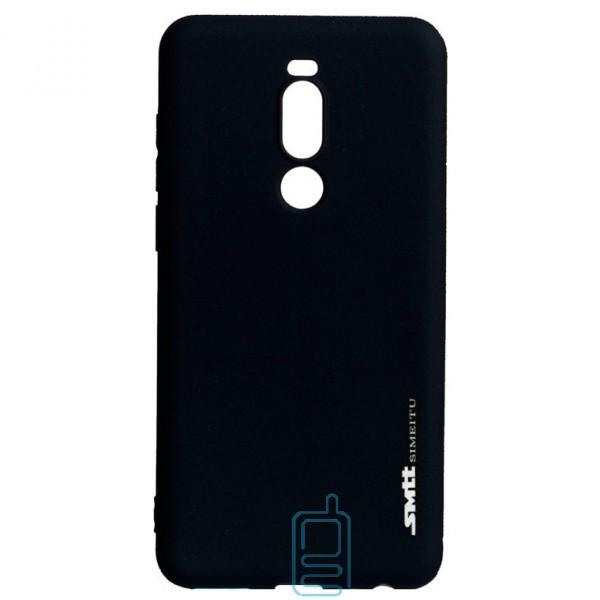 Чехол силиконовый SMTT Meizu Note 8 черный