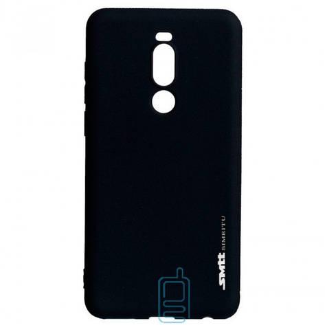 Чехол силиконовый SMTT Meizu Note 8 черный, фото 2