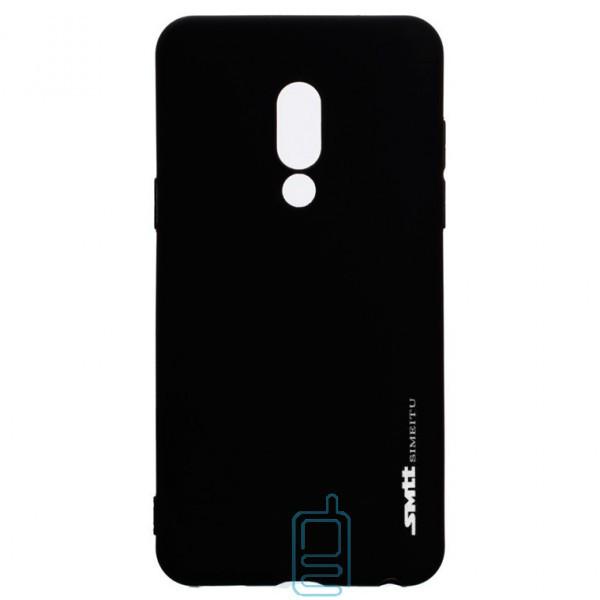 Чехол силиконовый SMTT Meizu 15 Plus черный