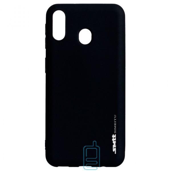 Чехол силиконовый SMTT Samsung M20 2019 M205 черный