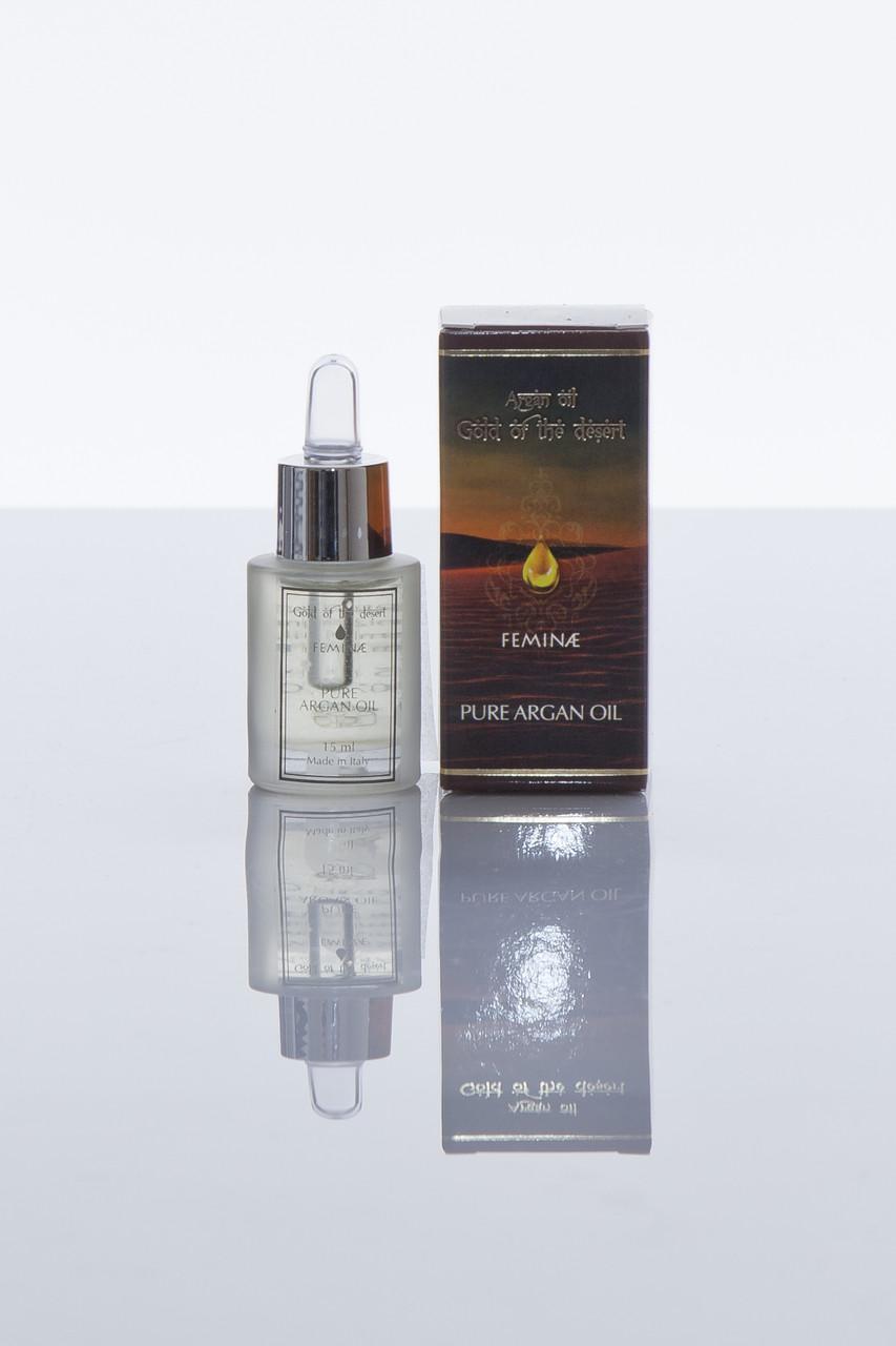 Аргановое масло натуральное без добавок  PURE ARGAN OIL, italian high quality cosmetics
