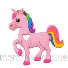 Единорожек радуга (розовый)