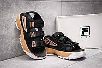 Жіночі босоніжки Fila Disruptor Sandals Black/Gold. FILA Disruptor Sandals, Сандалі Філа, obuwie damskie.