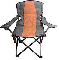Кресло раскладное Директор Лайт R28842 оранжевое, 90х54х100 см, фото 1