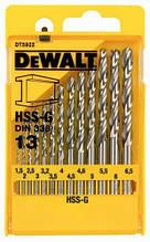 Набор сверл по металлу 13шт. DEWALT DT5922