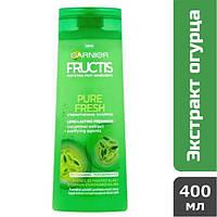 Шампунь для жирных волос Garnier Fructis Pure Fresh, 400 мл